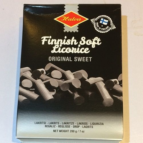 Finnish Soft Sweet Liquorice