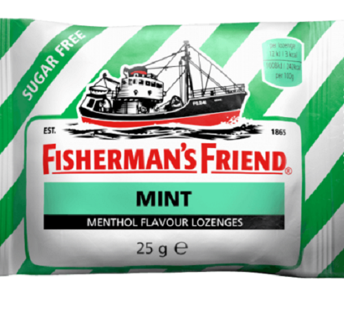 Fisherman's Friend  Sugar Free Mint (per packet)