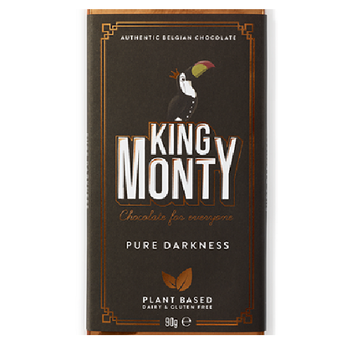 King Monty Pure Darkness 90g VEGAN